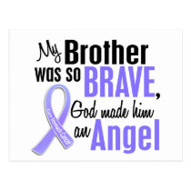 Angel 1 Brother Stomach Cancer Postcard