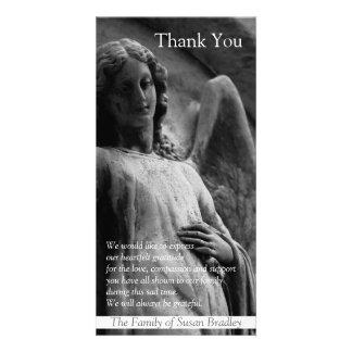 Angel -1- Christian Sympathy Thank You Photo Card