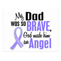 Angel 1 Dad Esophageal Cancer Postcard