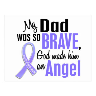 Angel 1 Dad Esophageal Cancer Postcard