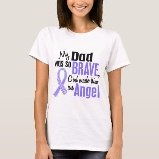 Angel 1 Dad Esophageal Cancer T-Shirt