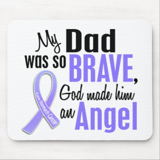 Angel 1 Dad Stomach Cancer Mouse Pad