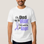 Angel 1 Dad Stomach Cancer Tee Shirt