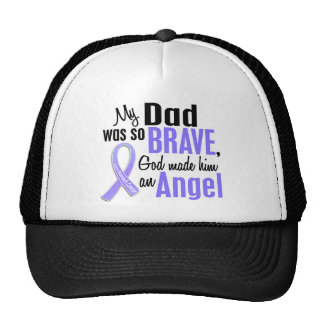 Angel 1 Dad Stomach Cancer Trucker Hat