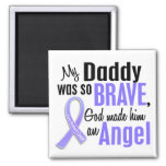 Angel 1 Daddy Stomach Cancer Refrigerator Magnet