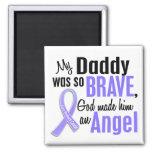 Angel 1 Daddy Stomach Cancer Refrigerator Magnet