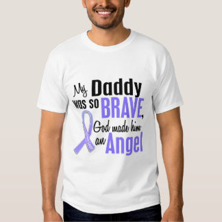 Angel 1 Daddy Stomach Cancer Tees