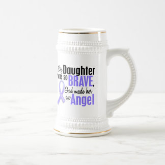 Angel 1 Daughter Esophageal Cancer Beer Stein