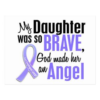 Angel 1 Daughter Esophageal Cancer Postcard