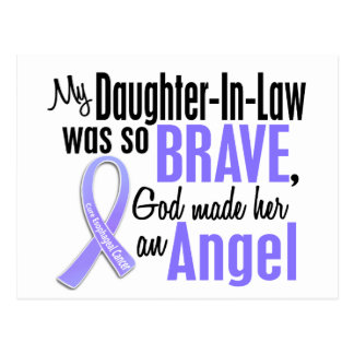 Angel 1 Daughter-In-Law Esophageal Cancer Postcard