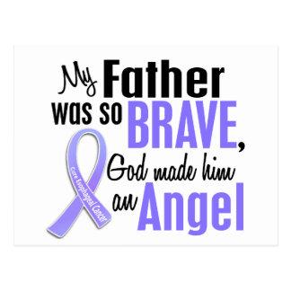 Angel 1 Father Esophageal Cancer Postcard