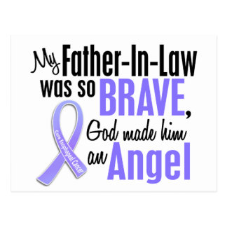 Angel 1 Father-In-Law Esophageal Cancer Post Card