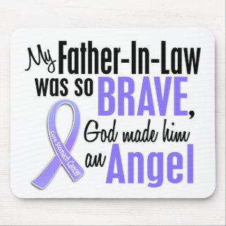 Angel 1 Father-In-Law Stomach Cancer Mouse Pad