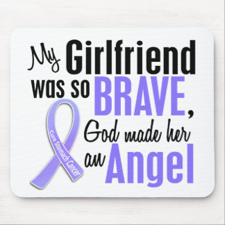 Angel 1 Girlfriend Stomach Cancer Mouse Pad
