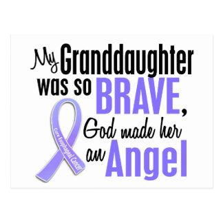 Angel 1 Granddaughter Esophageal Cancer Postcard