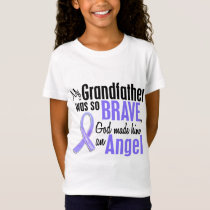 Angel 1 Grandfather Esophageal Cancer T-Shirt