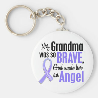 Angel 1 Grandma Esophageal Cancer Keychain