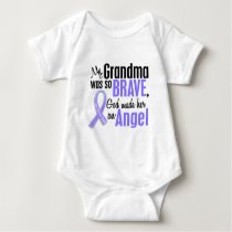 Angel 1 Grandma Stomach Cancer Baby Bodysuit