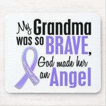 Angel 1 Grandma Stomach Cancer Mouse Pad