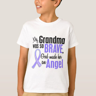 Angel 1 Grandma Stomach Cancer T-Shirt