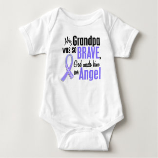 Angel 1 Grandpa Esophageal Cancer Baby Bodysuit