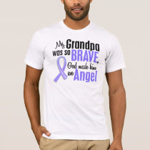 Angel 1 Grandpa Esophageal Cancer T-Shirt