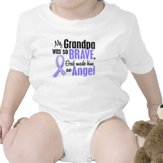 Angel 1 Grandpa Esophageal Cancer T Shirt
