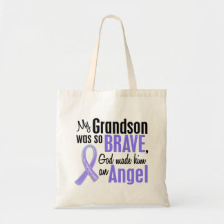 Angel 1 Grandson Esophageal Cancer Tote Bag