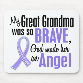Angel 1 Great Grandma Stomach Cancer Mouse Pad