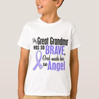 Angel 1 Great Grandma Stomach Cancer T-Shirt