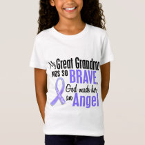 Angel 1 Great Grandma Stomach Cancer T-Shirt