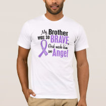 Angel 1 Hodgkins Lymphoma Brother T-Shirt
