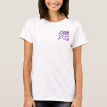 Angel 1 Hodgkins Lymphoma Cousin (Female) T-Shirt