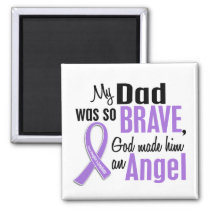 Angel 1 Hodgkins Lymphoma Dad Magnet