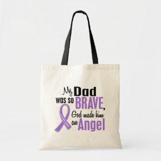 Angel 1 Hodgkins Lymphoma Dad Tote Bag