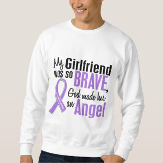 Angel 1 Hodgkins Lymphoma Girlfriend Sweatshirt