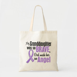 Angel 1 Hodgkins Lymphoma Granddaughter Tote Bag