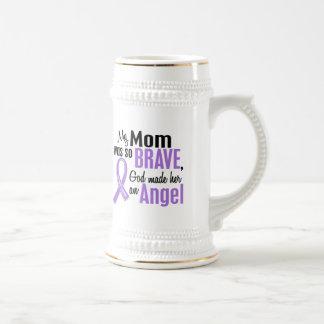Angel 1 Hodgkins Lymphoma Mom 18 Oz Beer Stein