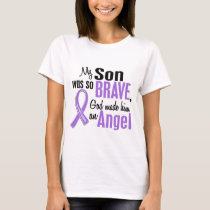 Angel 1 Hodgkins Lymphoma Son T-Shirt