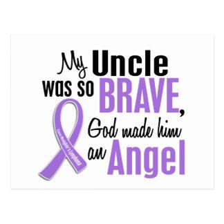 Angel 1 Hodgkins Lymphoma Uncle Postcard