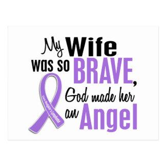 Angel 1 Hodgkins Lymphoma Wife Postcard