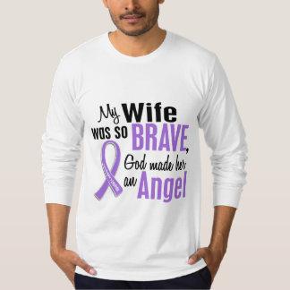 Angel 1 Hodgkins Lymphoma Wife T-Shirt