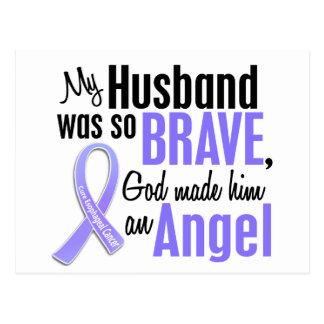 Angel 1 Husband Esophageal Cancer Postcard