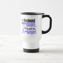 Angel 1 Husband Esophageal Cancer Travel Mug