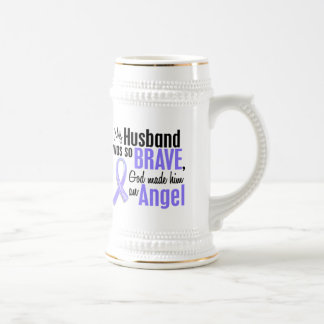 Angel 1 Husband Stomach Cancer Beer Stein