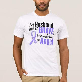 Angel 1 Husband Stomach Cancer T-Shirt