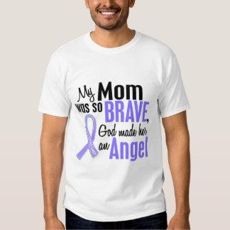 Angel 1 Mom Stomach Cancer T Shirt
