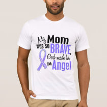 Angel 1 Mom Stomach Cancer T-Shirt
