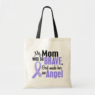 Angel 1 Mom Stomach Cancer Tote Bag