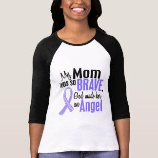 Angel 1 Mom Stomach Cancer Tshirt